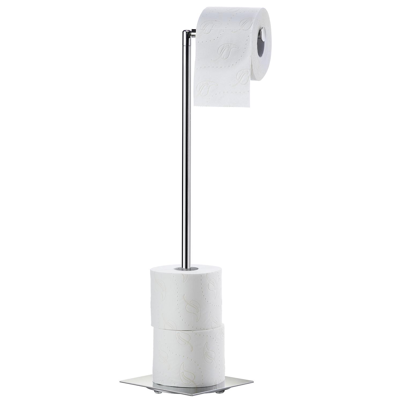 SMEDBO Outline Lite Toiletten- und Reservepapierhalter, eckig