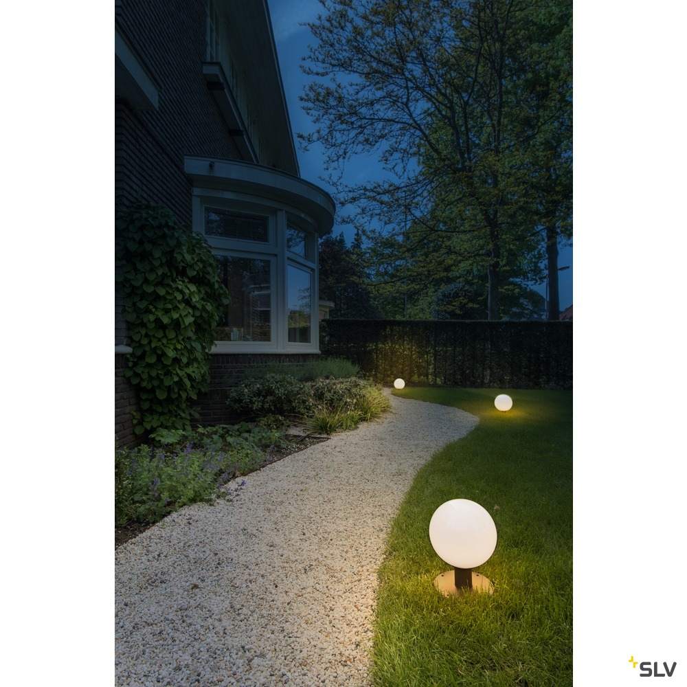 GLOO PURE 27 Pole, Outdoor Stehleuchte, E27, anthrazit, IP44