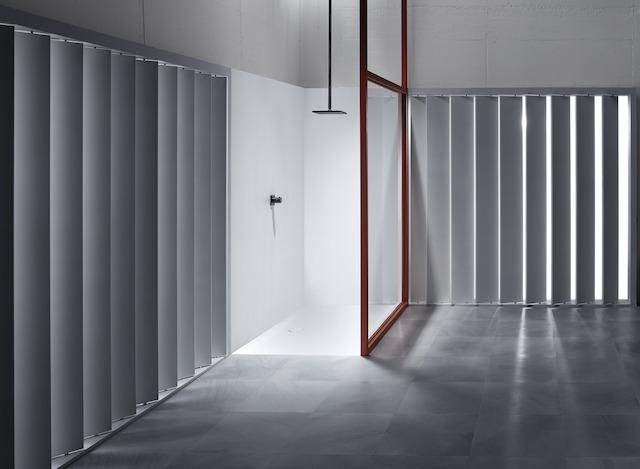 Bette Floor Side - 900x900 mm Bahama Beige (003) inkl. Antirutsch inkl. Wannenträger