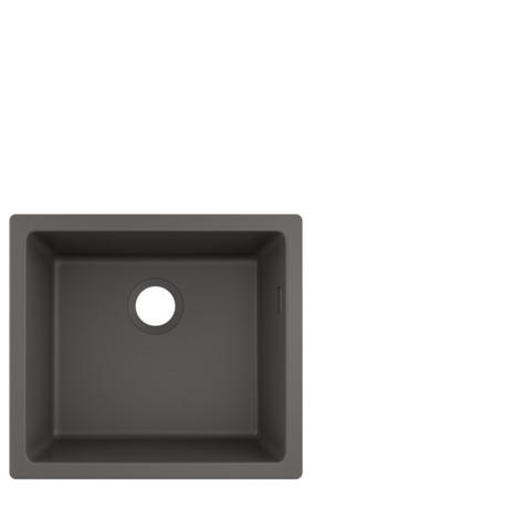 HG Unterbauspüle 450 S510-U450 steingrau