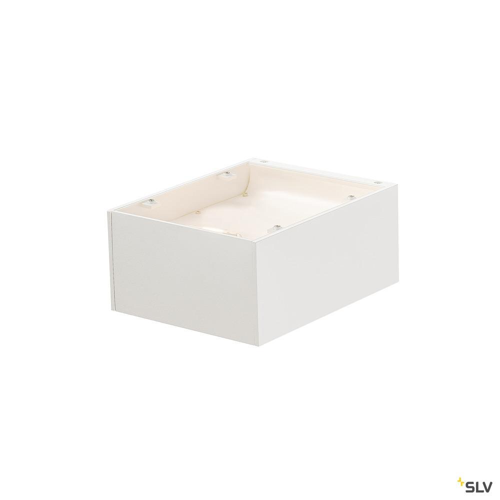 SHELL 15, WL, LED Indoor Wandaufbauleuchte, 3000K, weiß