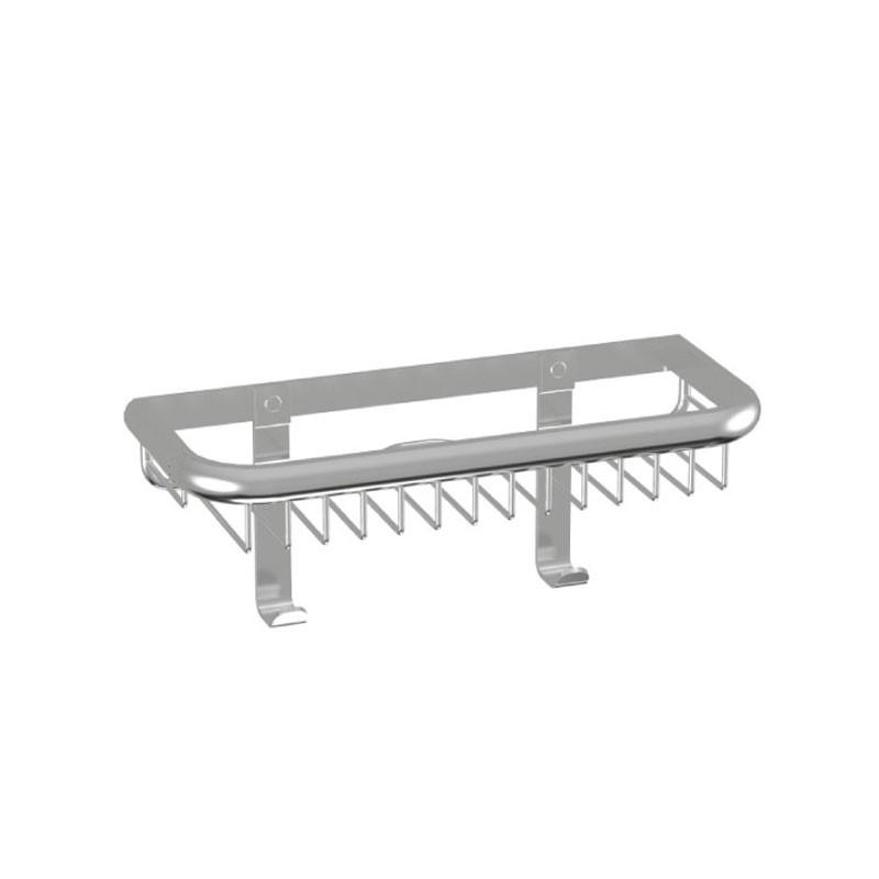 HSK Komfort & Pflege - Duschkorb Premium Wandmodell, flach