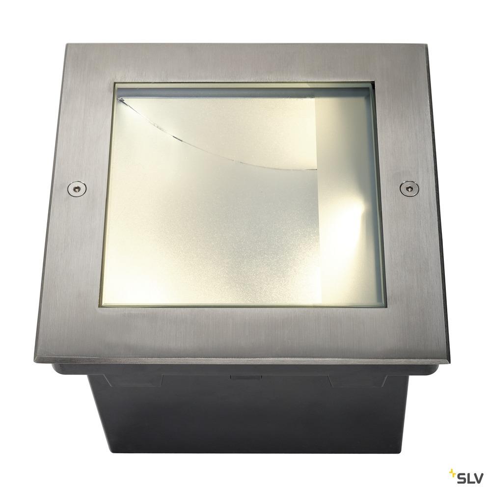 DASAR 225, Outdoor Bodeneinbauleuchte, LED, 3000K, IP67, edelstahl 316, asymmetrisch, 34W