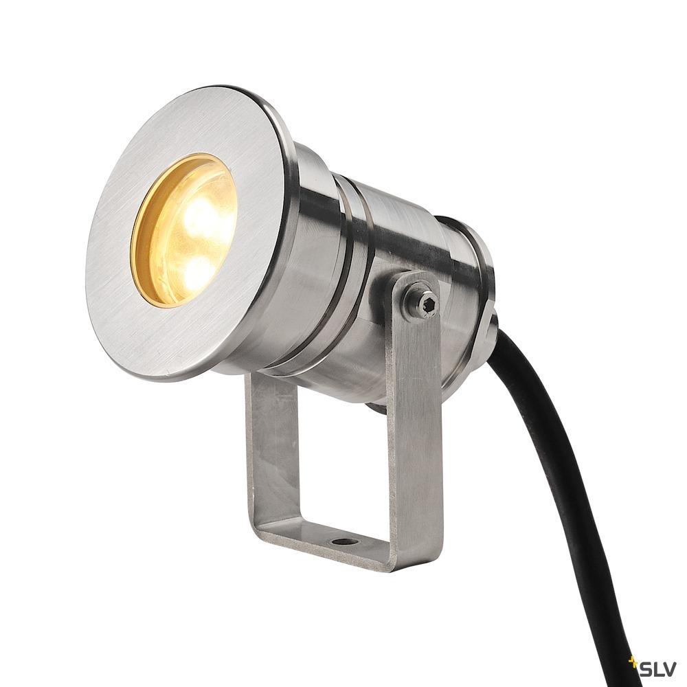 DASAR PROJEKTOR, Outdoor Strahler, LED, 3000K, IP68, edelstahl 316, 12-24V, 7W