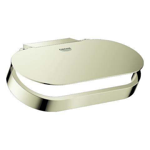 GROHE WC-Papierhalter Selection 41069 mit Deckel nickel