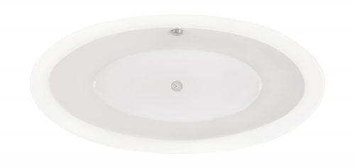 """Shape Clear"" Badewanne Oval - 1855 x 880 x 570 mm"