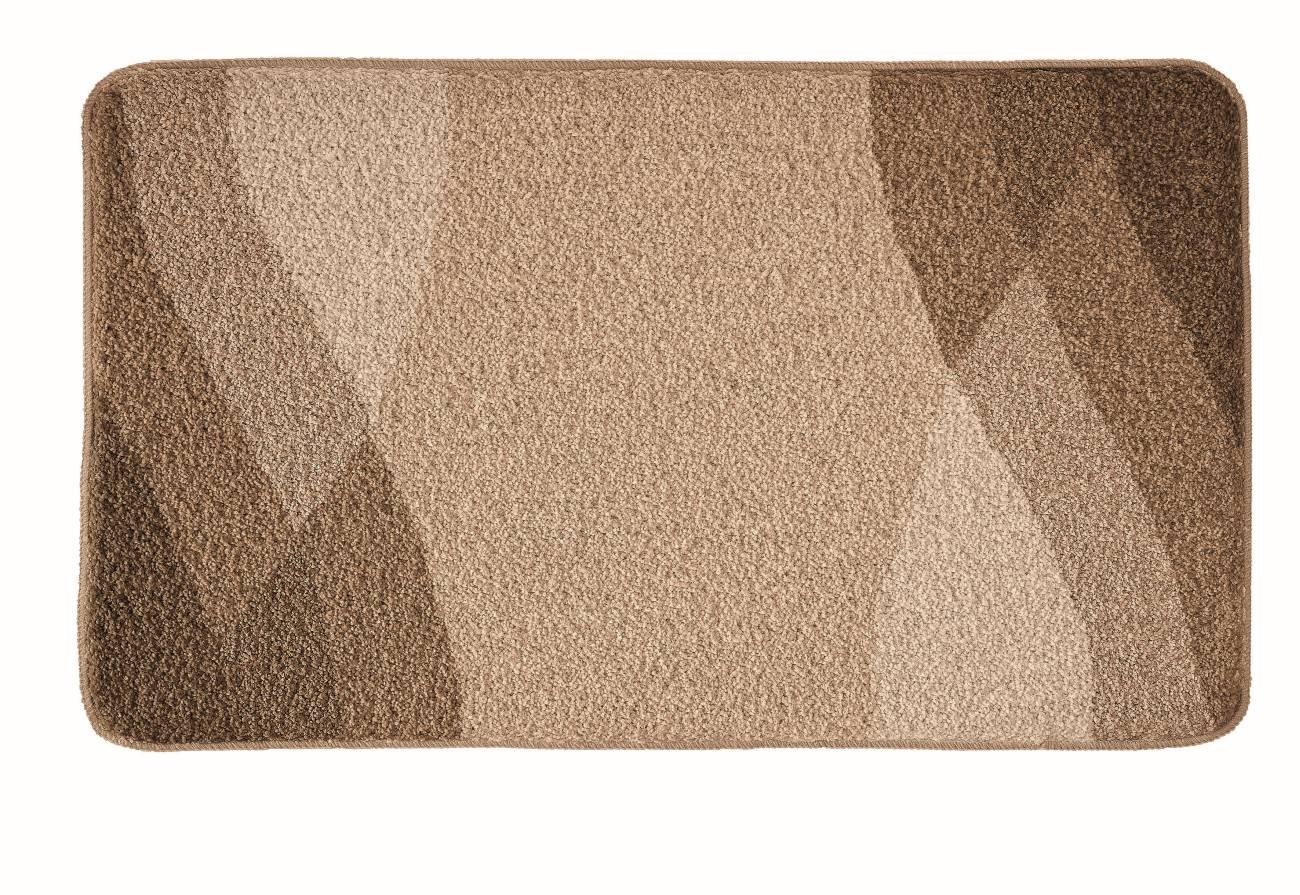 Badteppich Suri 100 % Polyacryl Schiefer 80x140 cm 60x100 cm Kaschmir