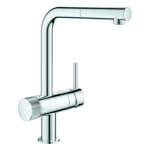 GROHE EH-SPT-Batterie GROHE Blue Pure Minta 31721 L-Auslauf chrom