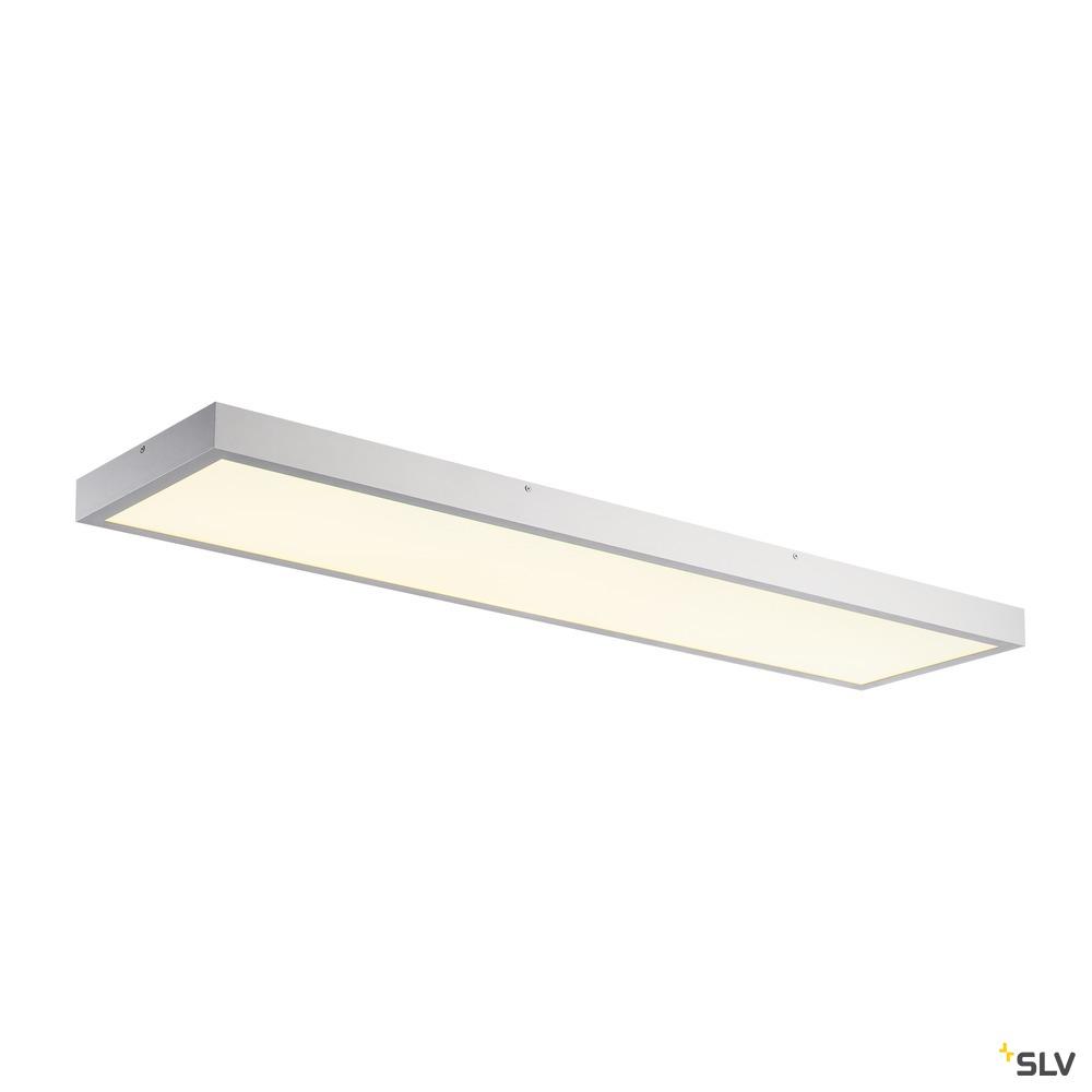 PANEL DALI, Indoor LED Deckenaufbauleuchten 1200x300mm grau 4000K weiß
