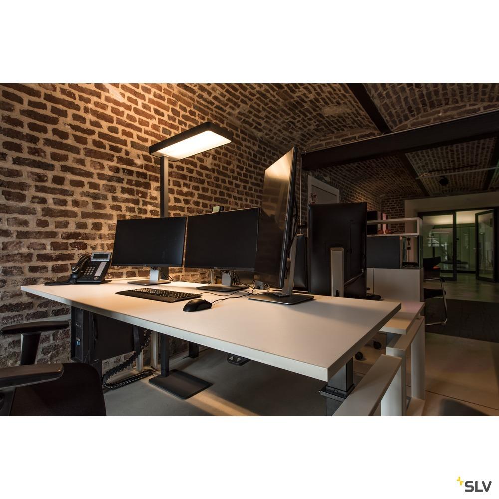 WORKLIGHT LED SL-2, Standleuchte, 3000K, anthrazit, 37W, inkl. LED-Treiber