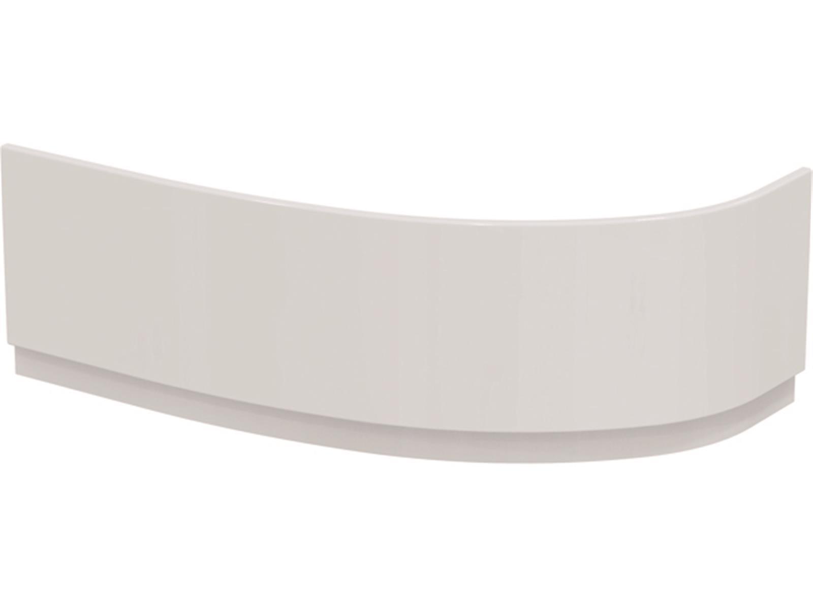 IS Acryl-Schürze Hotline Neu 1600mm asymmetrisch links Weiß