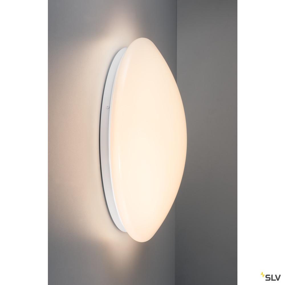 LIPSY 40 VALETO® CW, LED Indoor Wand- und Deckenaufbauleuchte, weiß, 16W