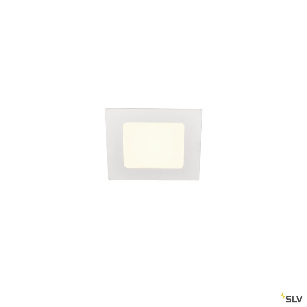 SENSER 12 DL, Indoor LED Deckeneinbauleuchte eckig weiß 4000K