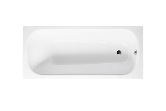 Bette Form - 1700×730 mm Weiß inkl. Antirutsch inkl. Wannenträger