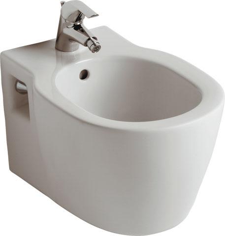 IS Wandbidet Connect 1 Hl. 360x540x305mm Weiß mit Ideal Plus