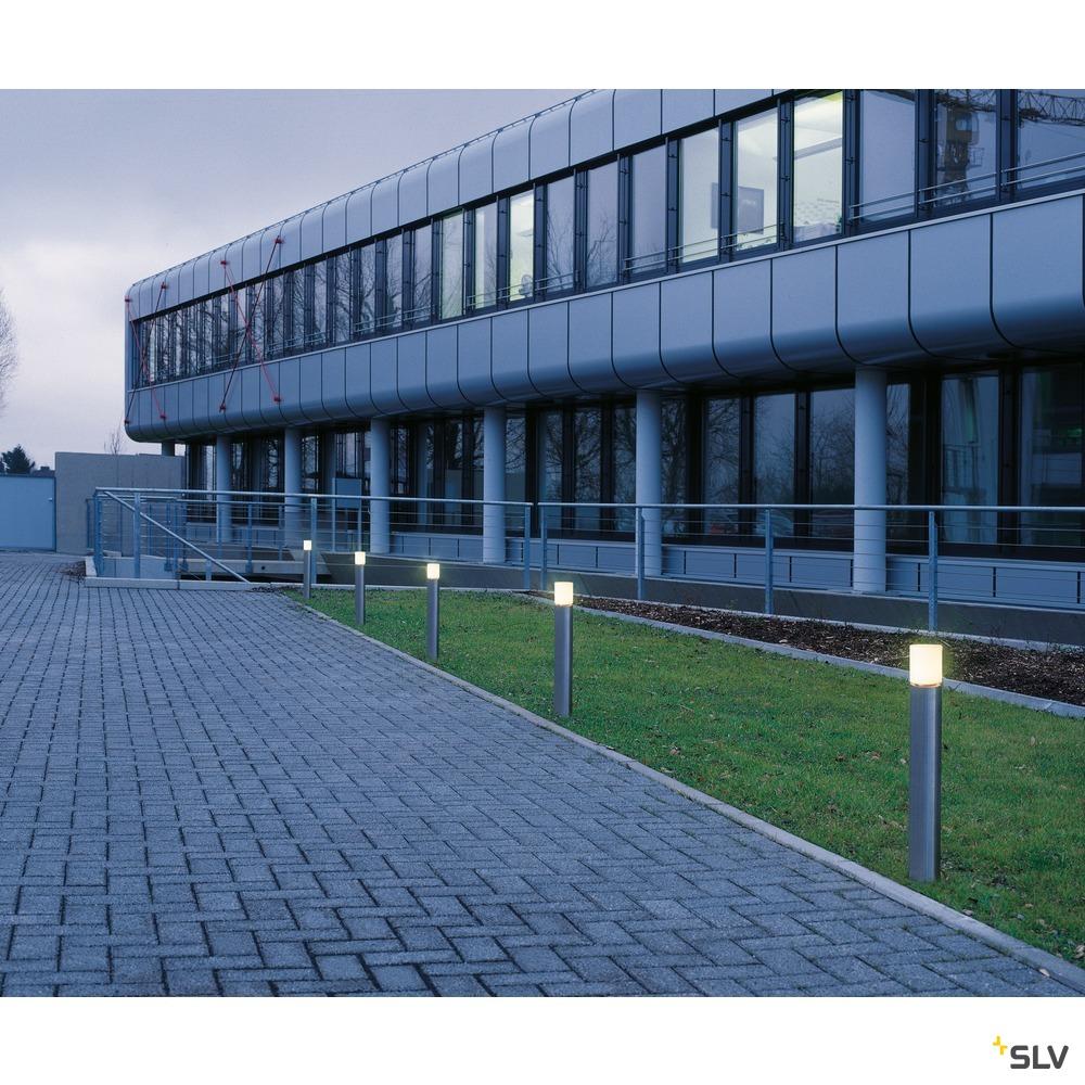 ROX ACRYL 90 Pole, LED Outdoor Stehleuchte, Edelstahl 316, 3000K, IP44