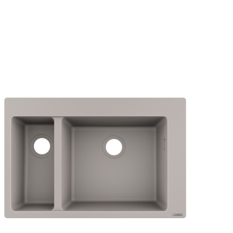 HG Einbauspüle 180x450 S510-F635 betongrau