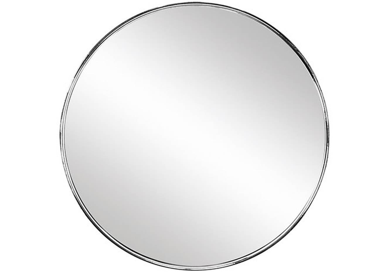 Kosmetikspiegel Mini Mirror EVA/Glas Silber Spiegel