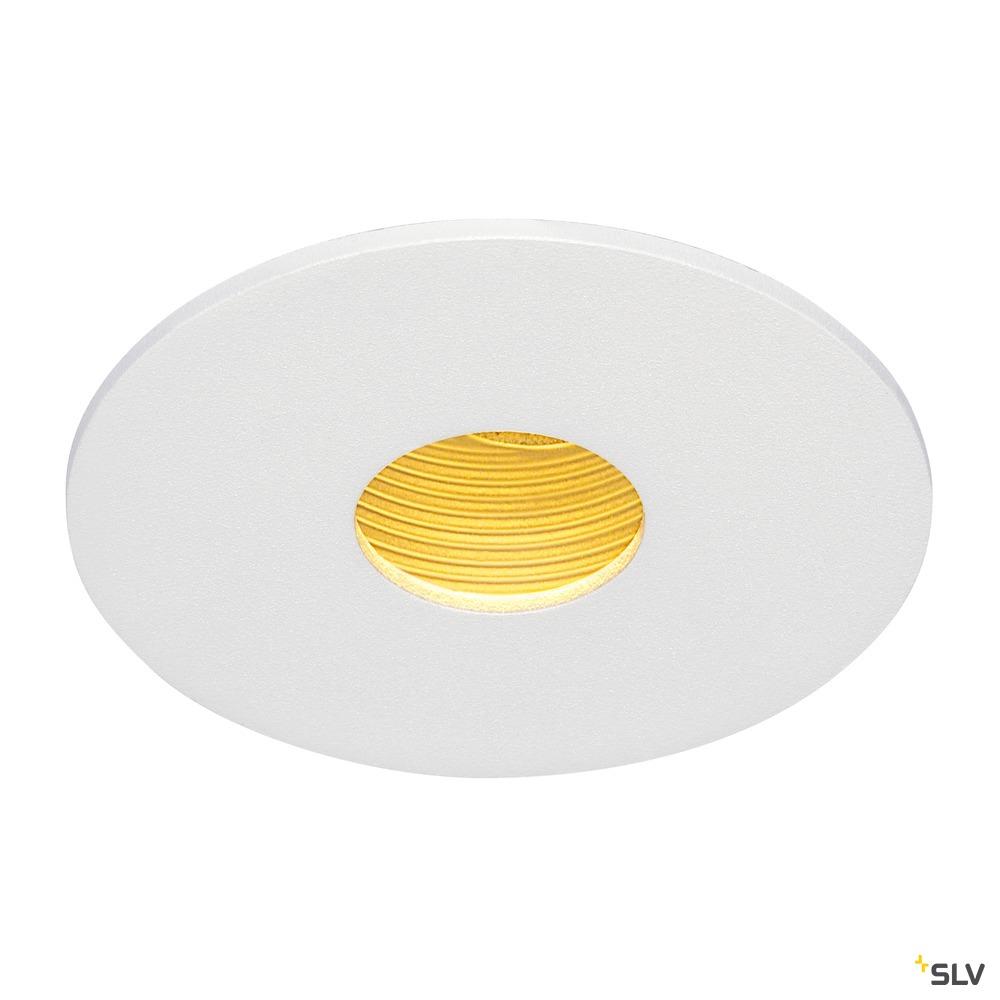 H-LIGHT 1, Einbauleuchte, LED, 2700K, rund, weiß, 20°, 11,5W, inkl. Treiber, Clipfeder