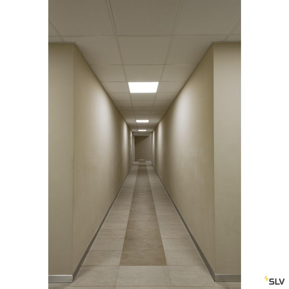 I-VIDUAL PANEL 600x600, LED Indoor Deckeneinbauleuchte, UGR