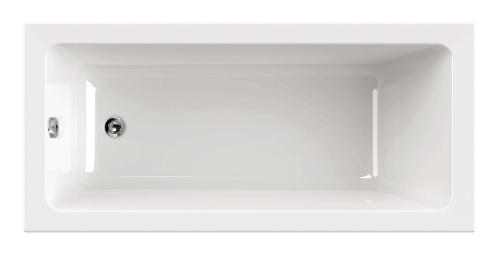 """""""Harmonie"""" Badewanne Rechteck - 1600x700x420 mm inkl. Wannenfuß inkl. Montagewinkel exkl. Wannenanker inkl. Wannendichtband inkl. Nackenkissen exkl. Acryl-Pflegeset"""