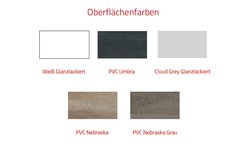 Thielsch Badmöbel Soul Set 60 cm PCV Umbra inkl. Wandschrank