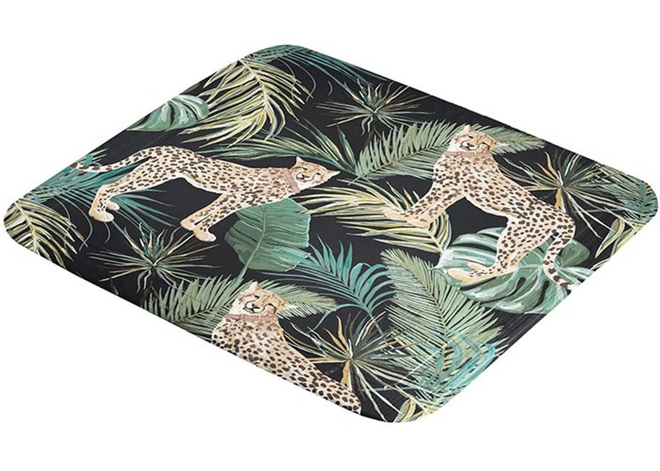 Duscheinlage Safari PVC Green 55x 55 cm