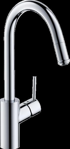 Hansgrohe Talis M52 Einhebel Küchenarmatur mit Ausziehauslauf