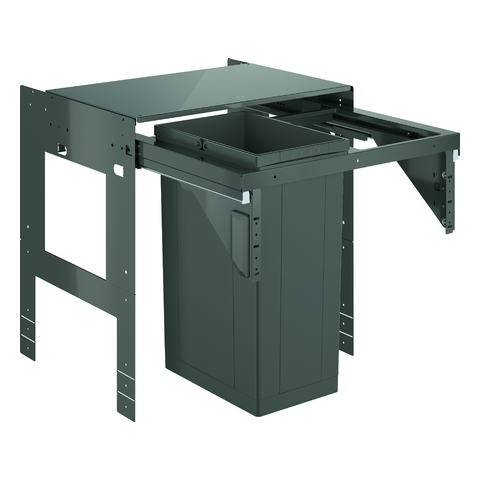 GROHE Mülltrennsystem GROHE Blue 40980 60cm einfach 1 x 29 Liter grau