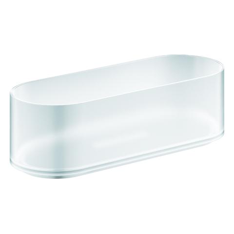 GROHE Duschablage Selection 41037 für Halter 41035 weißglas