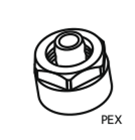 HSK Klemmverschraubung für PEX-Rohre