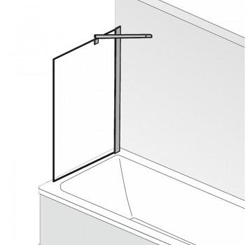 HSK Favorit Nova Seitenwand exkl. Aufmaßservice Chromoptik Linea.02 mit Beschichtung