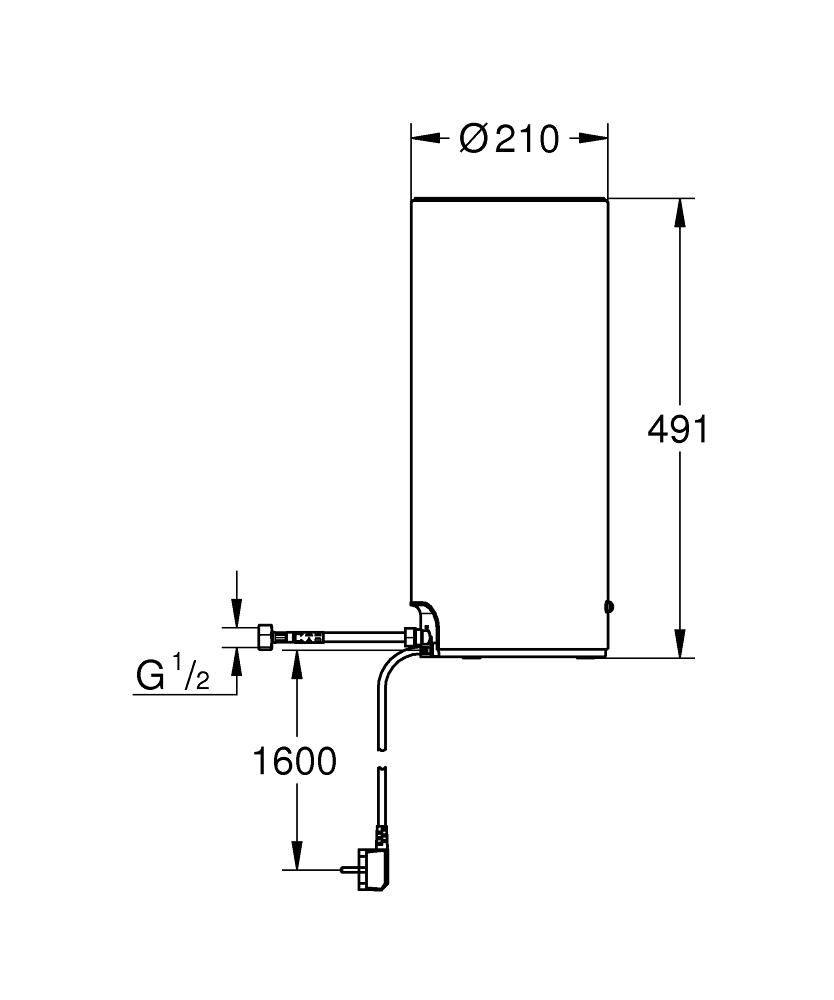 GROHE Red Boiler - Größe L