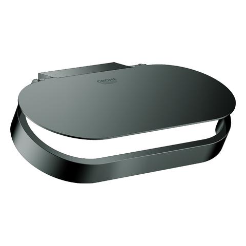 GROHE WC-Papierhalter Selection 41069 mit Deckel hard graphite