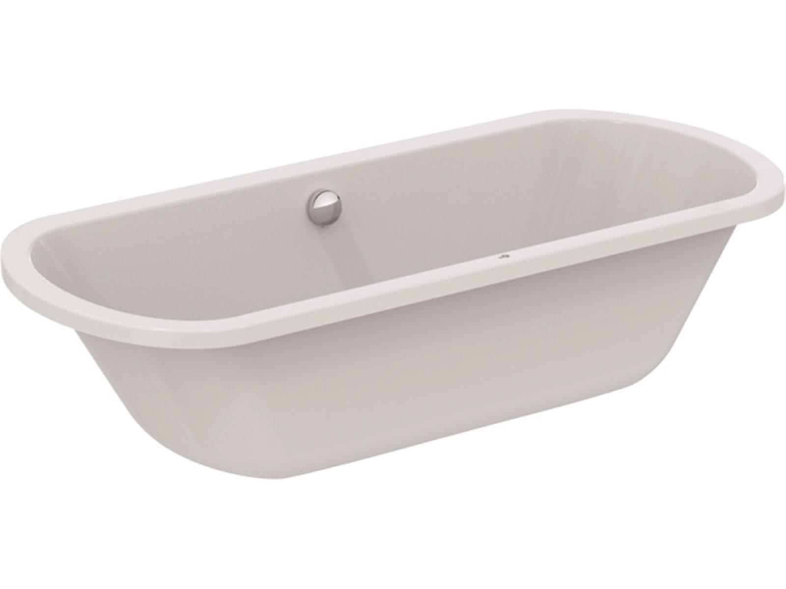 IS Oval-Badewanne Hotline Neu 1800x800x465mm Weiß