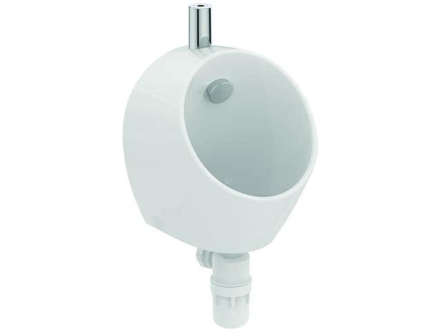 IS Urinal Sphero Mini Zulauf oben 300x300x370mm Weiß