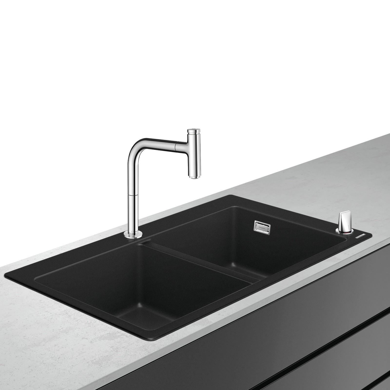 HG Select 200 Spülencombi 770 chrom