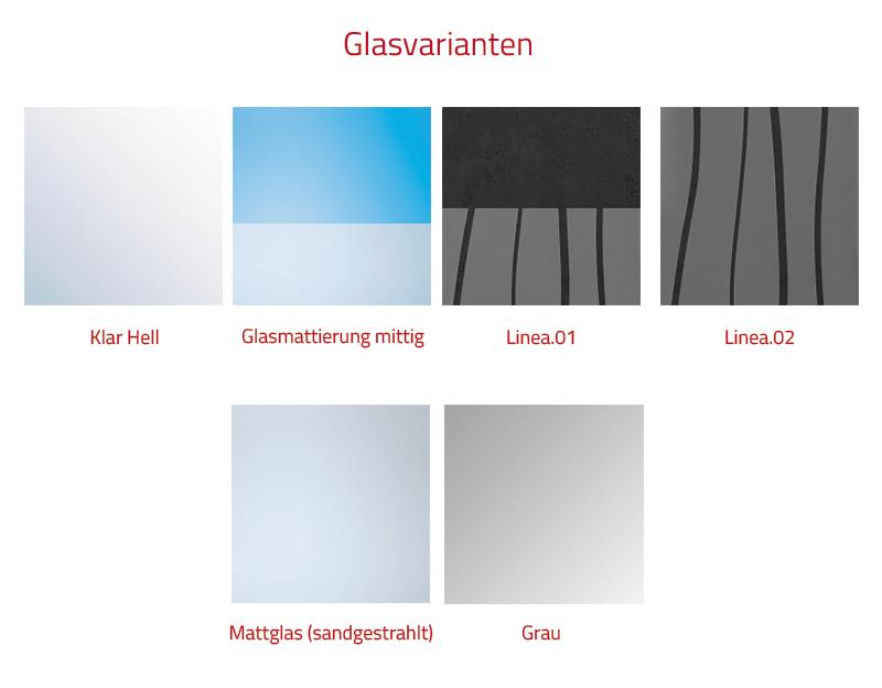 HSK Walk in LAVIDA 1 Glaselement + 1 bewegliches Seitenteil Chrom Links mit Handtuchhalter auf Duschwanne Klar Hell verspiegelt mit Beschichtung 2200 mm bis 1200 mm