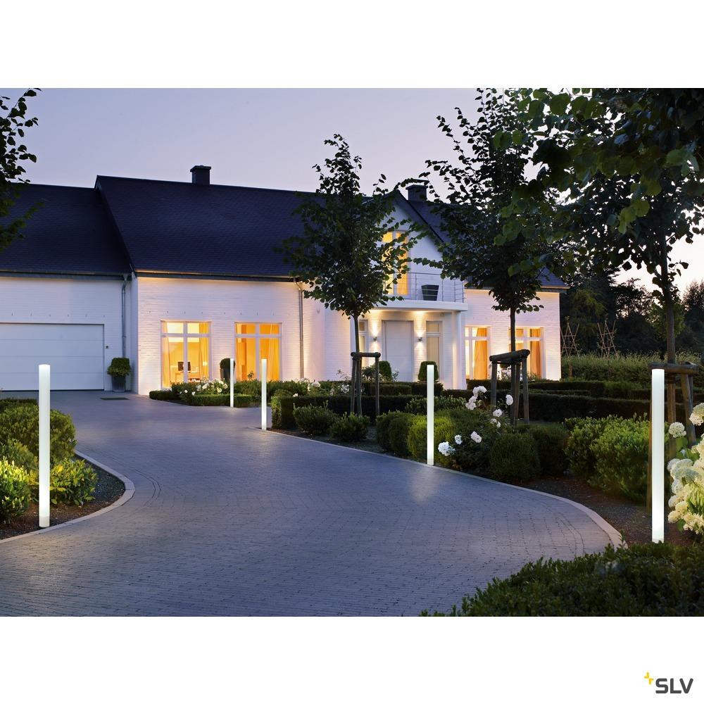 LIGHT PIPE, Wege- und Standleuchte, LED, 2700K, weiß, Ø/H 10/140 cm
