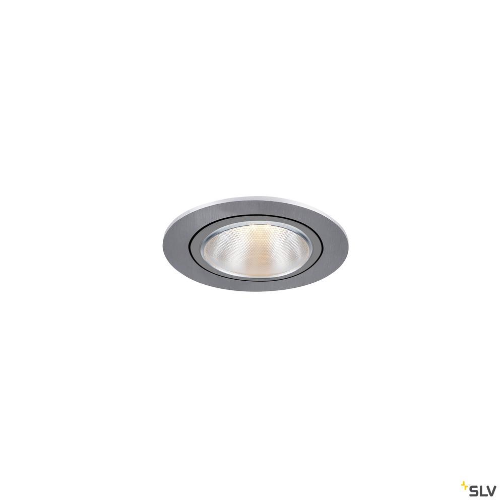 KAHOLO, Deckeneinbauleuchte, E27, aluminium gebürstet, max. 50W