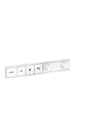 HG Thermostat Unterputz RainSelect Fertigset 3 Verbraucher mattweiss