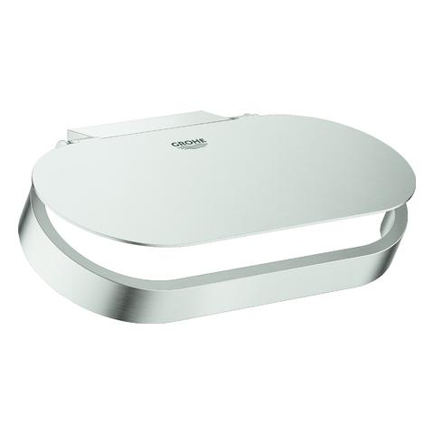 GROHE WC-Papierhalter Selection 41069 mit Deckel supersteel