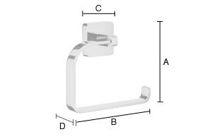 SMEDBO Ice Toilettenpapierhalter