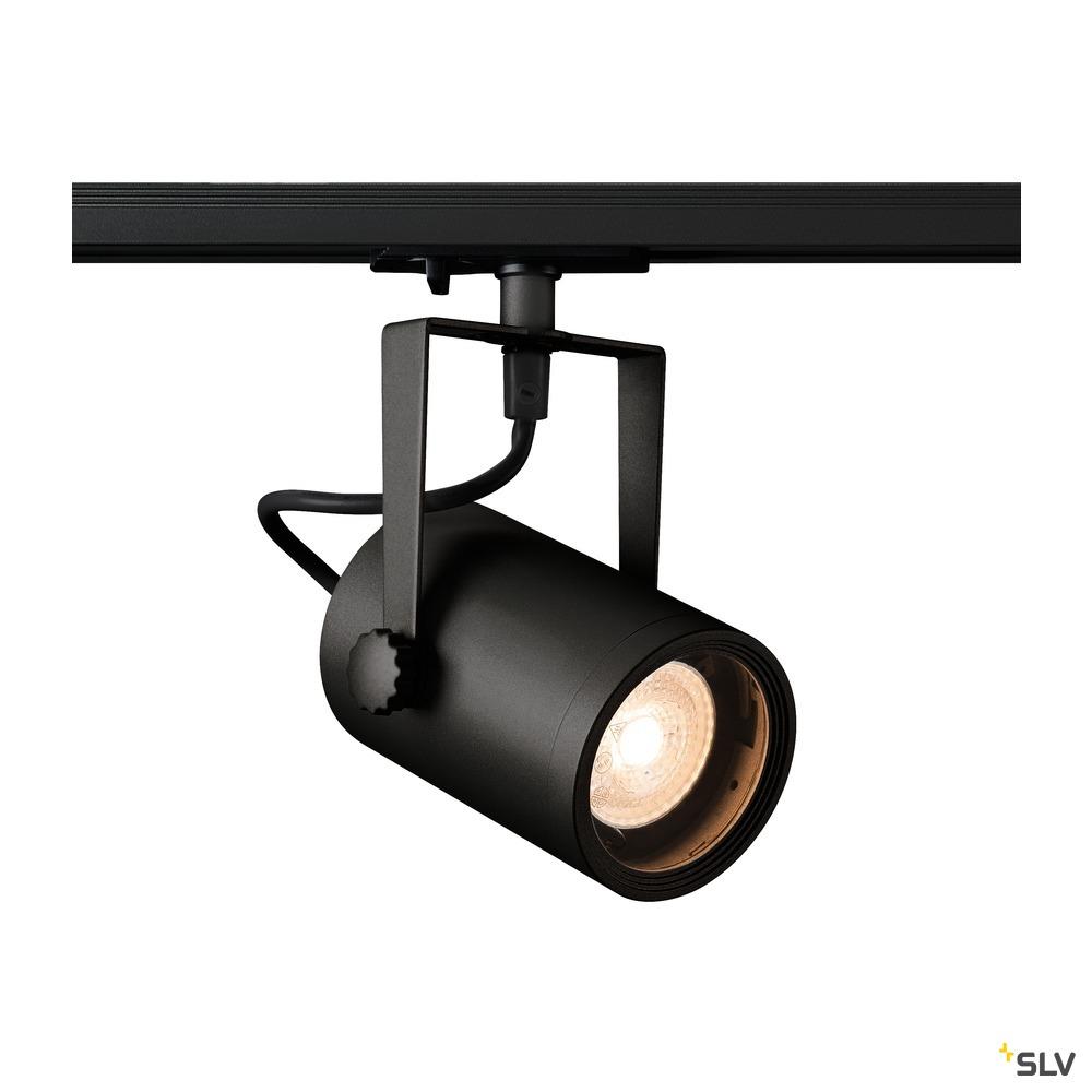 EURO SPOT TRACK SPOT, schwarz, QPAR51 25W, inkl. 1P.-Adapter...
