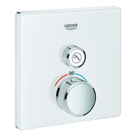 GROHE THM Grohtherm SmartControl 29153 eckig FMS 1 Absperrventil moon white
