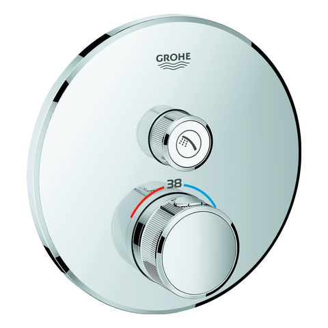 GROHE Thermostat Grohtherm SmartControl 29118 FMS rund 1 Absperrventil chrom