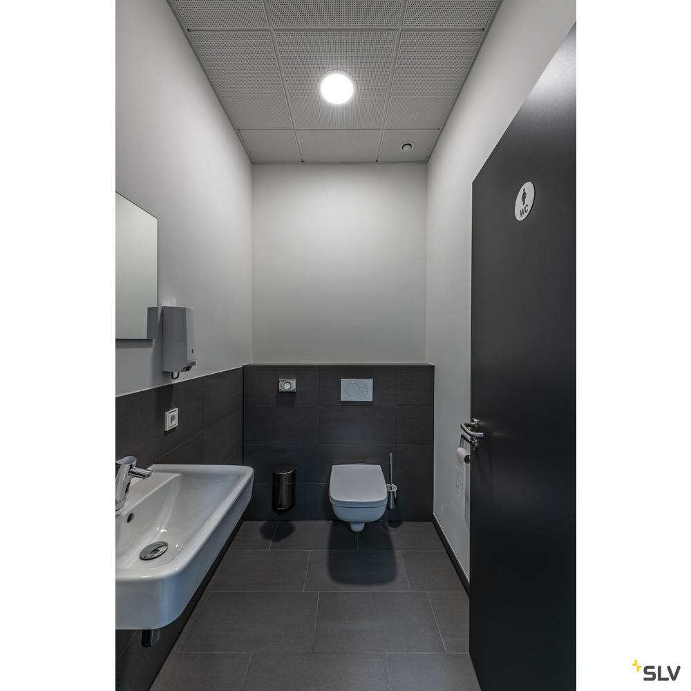 SENSER 24 DL, Indoor LED Deckeneinbauleuchte eckig weiß 4000K