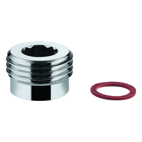 """GROHE Adapter 12945 1/2""""x3/8"""" chrom"""
