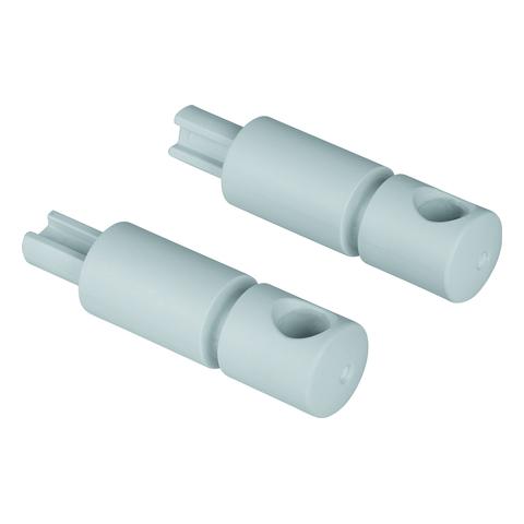 GROHE Stoßdämpfer 49528 für Bau Keramik WC-Sitz mit Soft Close Funktion weiß