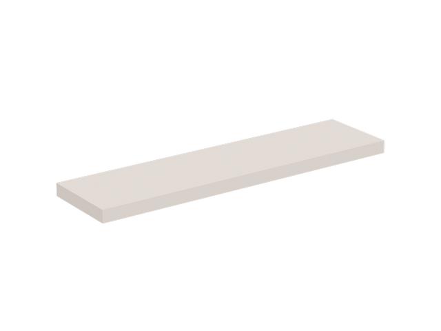 IS Konsole Conca 2000x505x80mm Weiß